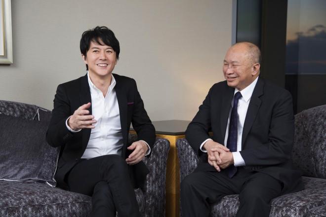 映画『マンハント』福山雅治×ジョン・ウー監督対談