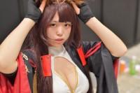 『闘会議2018』コスプレイヤー・ほむりさん<br>(『アズールレーン』赤城)