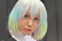 『闘会議2018』コスプレイヤー・桐生あかりさん<br>(『宝石の国』ダイヤモンド)