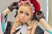 『闘会議2018』コスプレイヤー・Heidiさん<br>(『ローゼンメイデン』真紅)