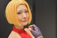 『闘会議2018』コスプレイヤー・成賀くるみさん<br>(『KOF'98 UMOL』ブルー・マリー)