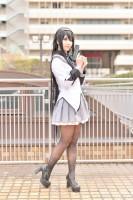 『acosta! コスプレイベント』コスプレイヤー・うさみさん<br>(『魔法少女まどか☆マギカ』暁美ほむら)