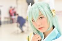 『acosta! コスプレイベント』コスプレイヤー・田�アあさひさん<br>(『Fate/Grand Order』清姫)