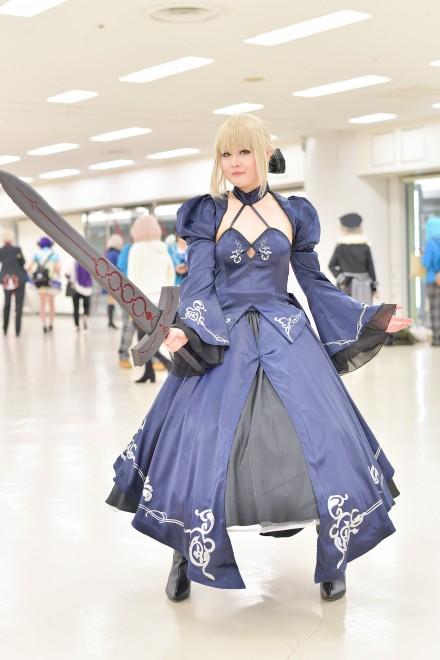 『acosta! コスプレイベント』コスプレイヤー・はるかさん<br>(『Fate/Grand Order』セイバーオルタ)