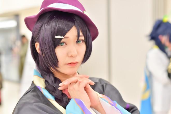 『acosta! コスプレイベント』コスプレイヤー・みぃにゃんさん<br>(『ラブライブ!』東條希)