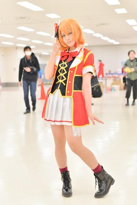 『acosta! コスプレイベント』コスプレイヤー・月苺さん<br>(『ラブライブ!』高坂穂乃果)