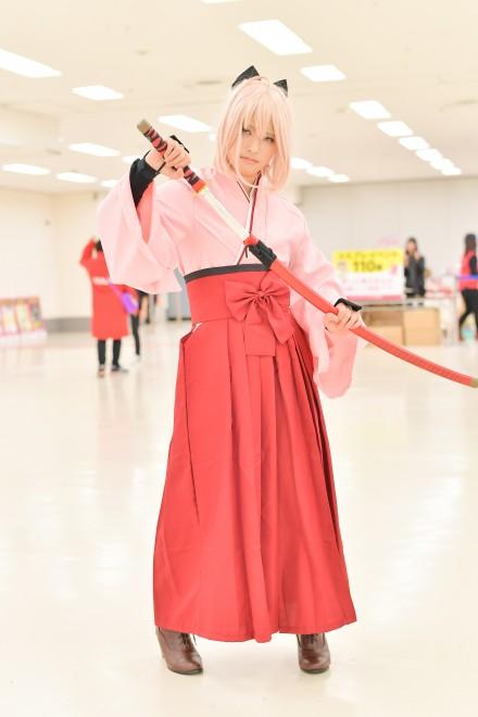 『acosta! コスプレイベント』コスプレイヤー・はなキャンさん<br>(『Fate/Grand Order』沖田総司)