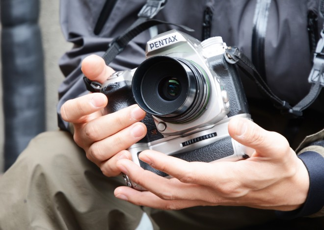 井浦の愛用カメラ「PENTAX K-3」