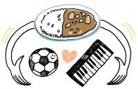 ホフディラン 小宮山雄飛 「NHKの番組でサッカー選手にカレーの作り方を教えることに」