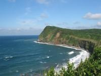 乳ヶ崎から大島灯台