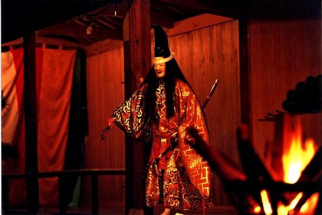 佐渡の伝統文化:薪能