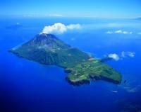 上空からみた硫黄島