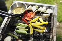 焼き野菜のバーニャカウダ