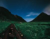 心に残る星景01『楽園へ』 —乗鞍岳 畳平〔日本・岐阜県〕
