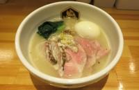 (錦糸町)鮮魚ブームの注目株『真鯛らーめん麺魚』真鯛らーめん(清湯)800円