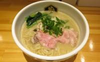 (錦糸町)鮮魚ブームの注目株『真鯛らーめん麺魚』濃厚真鯛らーめん850円