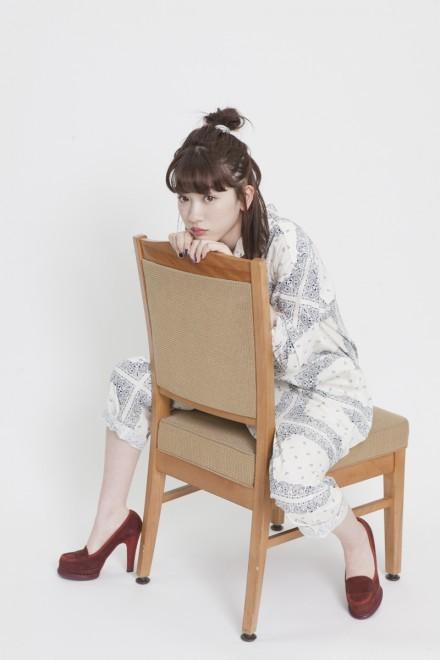 NHK連続テレビ小説『半分、青い。』に出演の永野芽郁(写真:逢坂 聡)