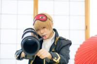 『acosta! コスプレイベント』コスプレイヤー・SARAさん<br>(『銀魂』沖田総悟)