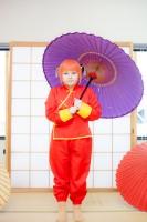 『acosta! コスプレイベント』コスプレイヤー・Hitomiさん<br>(『銀魂』神楽)