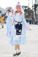 『acosta! コスプレイベント』コスプレイヤー・saraさん<br>(『東方Project』西行寺幽々子)