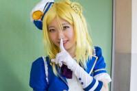 『acosta! コスプレイベント』コスプレイヤー・瑠裏さん<br>(『ラブライブ!サンシャイン!!』小原鞠莉)