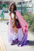 『acosta! コスプレイベント』コスプレイヤー・りめるさん<br>(『Fate/Grand Order』刑部姫)