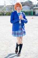 『acosta! コスプレイベント』コスプレイヤー・白雪りんごさん<br>(『ラブライブ!』星空凛)