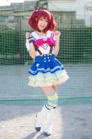『acosta! コスプレイベント』コスプレイヤー・yukiさん<br>(『ラブライブ!サンシャイン!!』黒澤ルビィ)