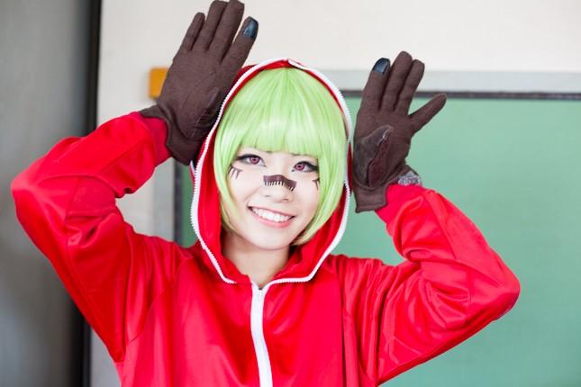 『acosta! コスプレイベント』コスプレイヤー・とうきさん<br>(『VOCALOID』GUMI)