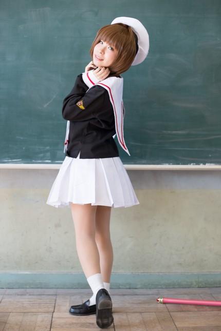 『acosta! コスプレイベント』コスプレイヤー・saraさん<br>(『カードキャプターさくら』木之本桜)