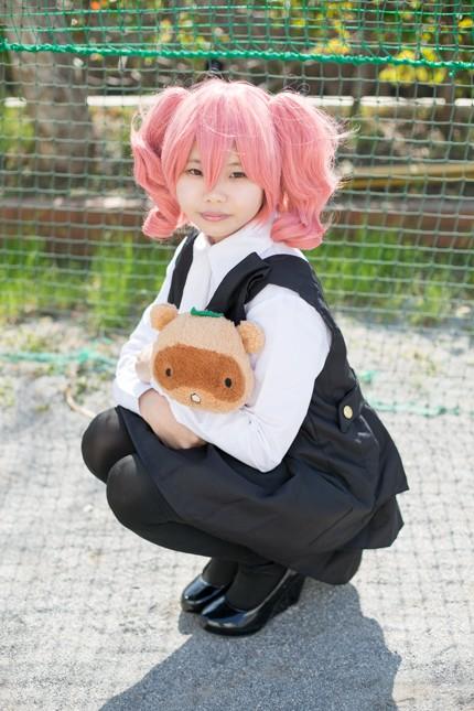 『acosta! コスプレイベント』コスプレイヤー・秋桜さん<br>(『妖狐×僕SS』髏々宮カルタ)