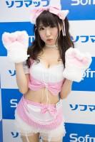 『サンクプロジェクト×ソフマップ』コスプレイヤー・みけさん<br>(『オリジナル』白猫メイド)