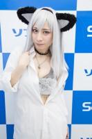 『サンクプロジェクト×ソフマップ』コスプレイヤー・mi-ya.さん<br>(『オリジナル』彼シャツタチネコ)