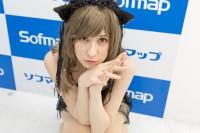 『サンクプロジェクト×ソフマップ』コスプレイヤー・八雲聖さん<br>(『サブカルコス』猫ランジェリー)