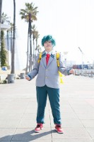 『acosta!コスプレイベント@大阪南港ATC』コスプレイヤー・チョモさん<br>(『僕のヒーローアカデミア』緑谷出久)