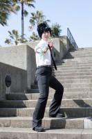 『acosta!コスプレイベント@大阪南港ATC』コスプレイヤー・ぶりっちさん<br>(『地獄先生ぬ〜べ〜』鵺野鳴介)