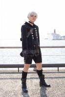 『acosta!コスプレイベント@大阪南港ATC』コスプレイヤー・衣津さん<br>(『ニーア オートマタ』ヨルハ九号S型)