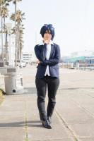 『acosta!コスプレイベント@大阪南港ATC』コスプレイヤー・桟さん<br>(『刀剣乱舞』三日月宗近)