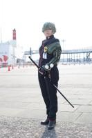 『acosta!コスプレイベント@大阪南港ATC』コスプレイヤー・ことはさん<br>(『刀剣乱舞』鶯丸)