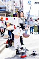『日本橋ストリートフェスタ2018』コスプレイヤー・しずさん<br>(『オリジナル』ゼロ戦)