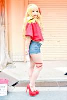 『日本橋ストリートフェスタ2018』コスプレイヤー・四ッ谷ナナリーさん<br>(『マクロスF』シェリル・ノーム)