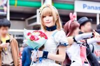 『日本橋ストリートフェスタ2018』コスプレイヤー・もちこさん<br>(『ラブライブ!』南 ことり)