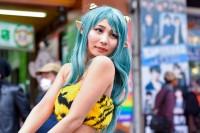 『日本橋ストリートフェスタ2018』コスプレイヤー・きゃろっとさん<br>(『うる星やつら』ラム)