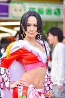 『日本橋ストリートフェスタ2018』コスプレイヤー・るなちっちさん<br>(『ONEPIECE』ボア・ハンコック)