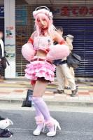 『日本橋ストリートフェスタ2018』コスプレイヤー・鞠々まりいさん<br>(『ボーカロイド』すーぱーそに子)