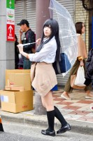 『日本橋ストリートフェスタ2018』コスプレイヤー・mgnmさん<br>(『恋は雨上がりのように』橘あきら)
