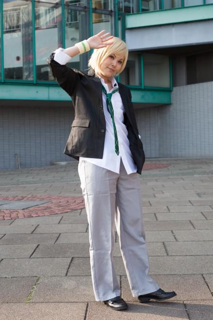 『acosta!コスプレイベント@大阪南港ATC』コスプレイヤー・かさねさん<br>(『BROTHERHOOD   FINAL FANTASY XV』プロンプト・アージェンタム)