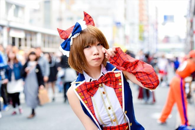 『日本橋ストリートフェスタ2018』コスプレイヤー・ぺろねこさん<br>(『アイドルマスター シンデレラガールズ』前川 みく)