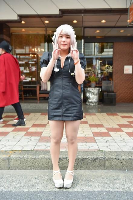 『日本橋ストリートフェスタ2018』コスプレイヤー・そに子さん<br>(『ボーカロイド』すーぱーそに子)
