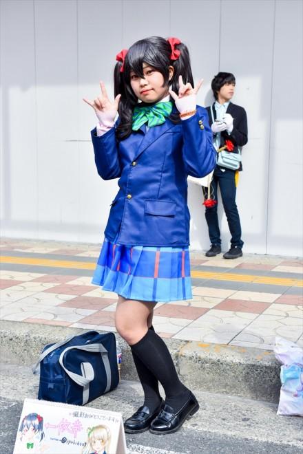 『日本橋ストリートフェスタ2018』コスプレイヤー・依 幸さん<br>(『ラブライブ!』矢澤にこ)